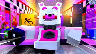 Funtime Freddy Loses His Legs! Minecraft FNAF Roleplay