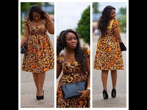 Modern African Attire Dress : Beautiful Africa Dress Collection