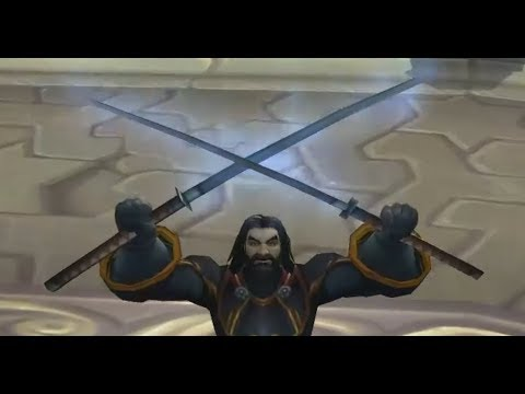 Typhoon a Ultra Rare Unobtainable Sword from the World of Warcraft