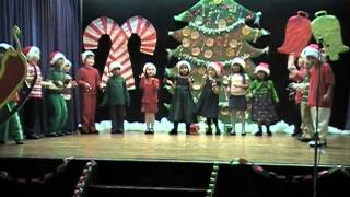 Kindergarten - Jingle Bell Rock 2010