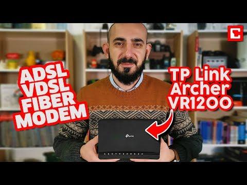 TP Link Archer VR1200 İnceleme -  ADSL/VDSL Gigabit Modem Router