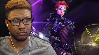 NEW OVERWATCH HERO UNLOCKED?! TALON GETS A HEALER?! | OVERWATCH Moira LIVE REACTION!