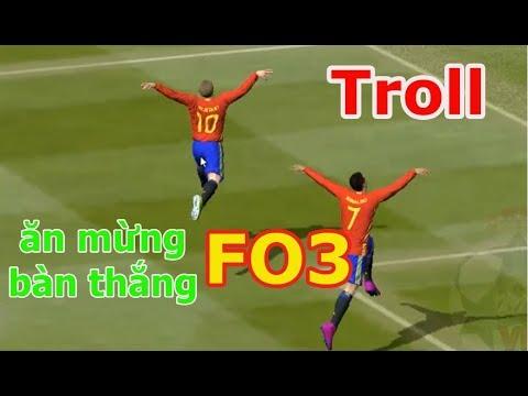Cách Ăn Mừng Troll Đối Phương Trong Fifa Online 3 (phần 1)