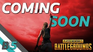 PUBG Xbox One/PS4 | What's Next? FLARE GUN, Vehicles, Gameplay Changes