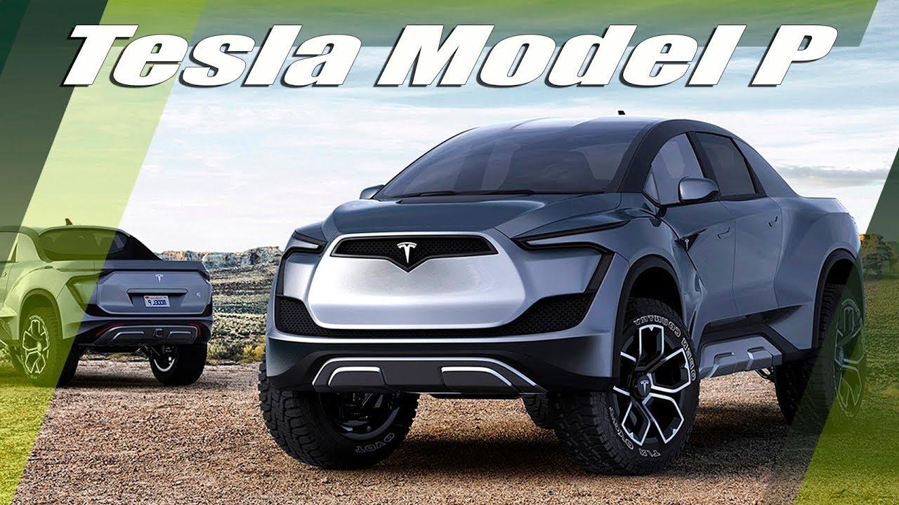 Tesla Model P Pickup Truck By Husmen - YouTube