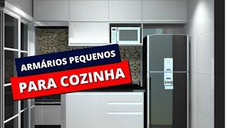 ARMÁRIOS PARA COZINHA PEQUENA: Como escolher o melhor para sua cozinha com o melhor custo beneficio
