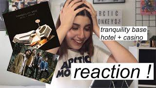 Arctic Monkeys Tranquility Base Hotel + Casino Reaction!