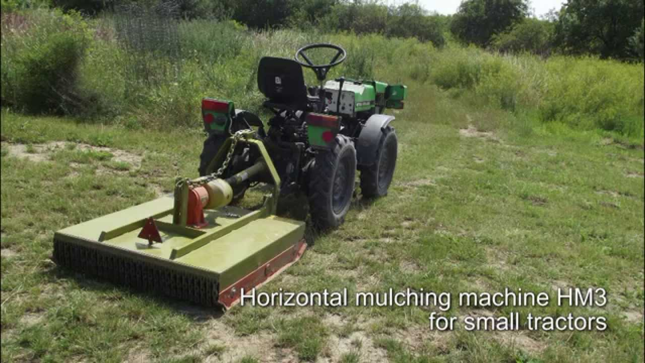 Small Mulching Machine