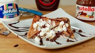How to Make Nutella S'mores French Toast   Eat the Trend