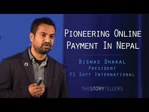 The Storytellers: Pioneering Online payment in Nepal (eSewa) - Mr. Biswas Dhakal.