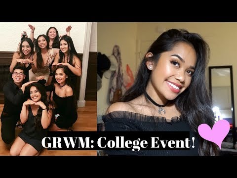 GET READY WITH ME: Formal College Event/Party!