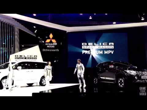 Mitsubishi Performance By Step design At Motor show 2015.