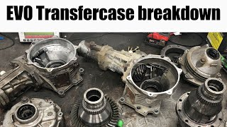 EVO Transfercase Teardown // ACD and Non-ACD // Mitsubishi Lancer Evolution VIII IX