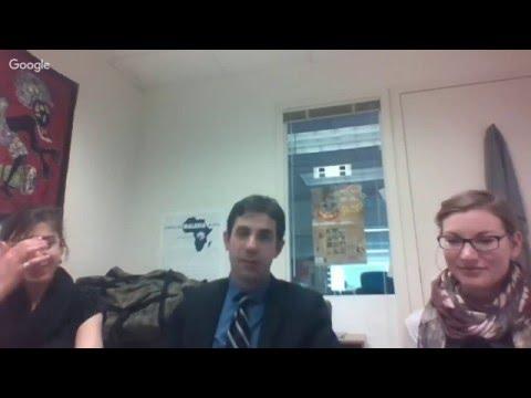 Michael Shvartsman -- Global Initiatives Intern, U.S. Chamber of Commerce