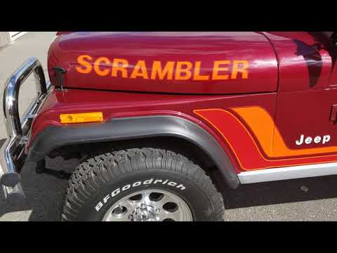 1982  Jeep Scrambler For Sale