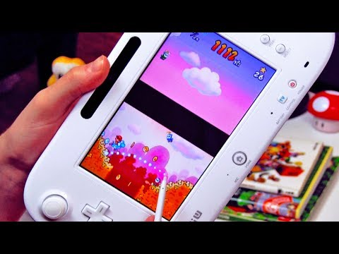 playing nintendo ds games on wii u gamepad youtube. Black Bedroom Furniture Sets. Home Design Ideas
