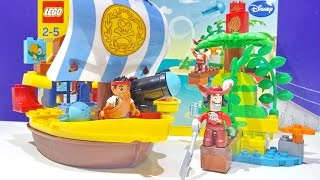 Lego Duplo Jake And The Neverland Pirates Battle Captain Hook Aboard Jake's Pirate Ship Bucky Toys