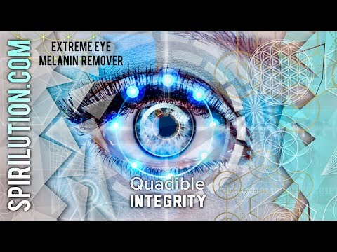 ★ EXTREME EYE MELANIN REMOVER! CHANGE YOUR EYE COLOR FAST! QUADIBLE INTEGRITY ★
