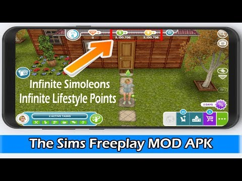 The Sims Freeplay MOD APK 5.52.0 NO ROOT 2020 (Unlimited Money)