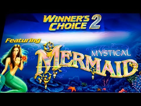 Winner's Choice 2 - Mystical Mermaid Slot - RETRIGGER & VICTORY! - 동영상