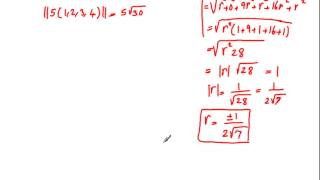 Lecture 19, Euclidean n-Space, General Vector Spaces