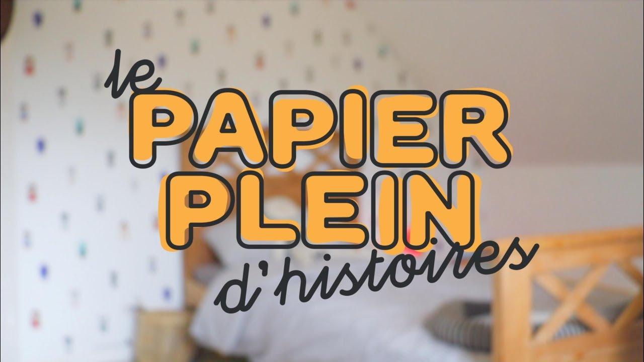 Papier Plein D Histoires Chez Castorama Youtube