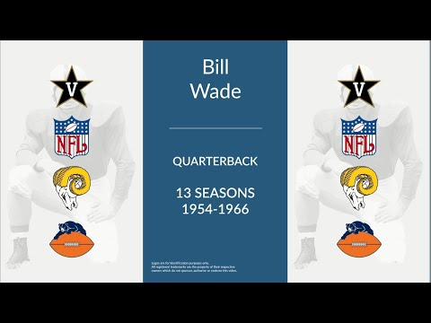 Bill Wade: Football Quarterback