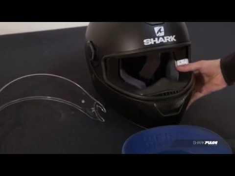 SHARK Skwal Démontage / Remontage Ecran _ Dismantling  / Assembling Visor