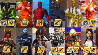 ALL 13 Mythic Bosses & 23 Mythic Weapons & 10 Vault Locations From Season 2 To Season 4 Fortnite