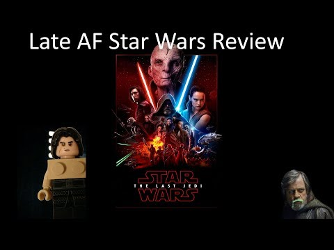 The bad Jedi Review (LateAF) With guest star 'Token Asian Gurl!'