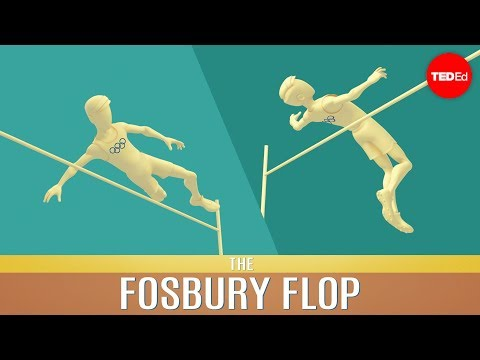 The Physics of the Fosbury Flop