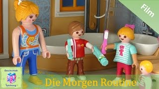 Playmobil Film Deutsch NICKI UND LUKES MORGEN ROUTINE ♡ Playmobil Geschichten mit Familie Miller