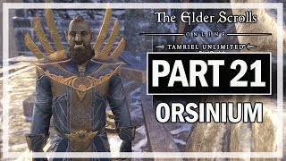 The Elder Scrolls Online Orsinium Walkthrough Part 21 - Let