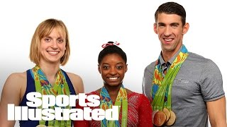 Behind the Scenes: Ledecky, Phelps, and Biles Cover Shoot | Sports Illustrated