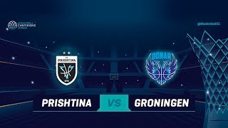 Sigal Prishtina v Donar Groningen - Full Game - Qualif. Rd. 1 - Basketball Champions League 2018-19