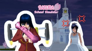 Crashing A Wedding //Sakura School Simulator//