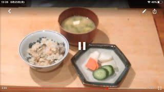 《カキゴハン(牡蠣ご飯)》・・・・大和の 和の料理《炊き込みご飯》