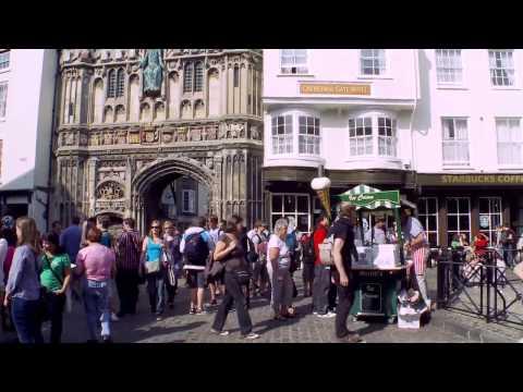 Visitando Canterbury Inglaterra
