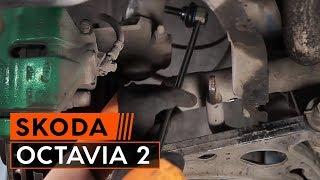 Montering Krängningshämmarstag SKODA OCTAVIA (1Z3): gratis video