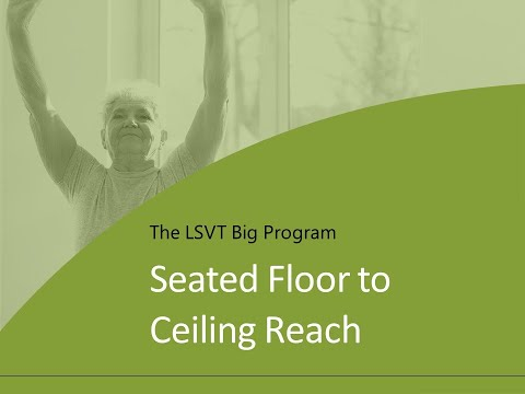 Exercise 1: Seated Floor to Ceiling Reach