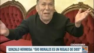 #HERMOSA RATIFICA ELOGIOS A #EVO Y AHORA ATACA A #CarlosMesa