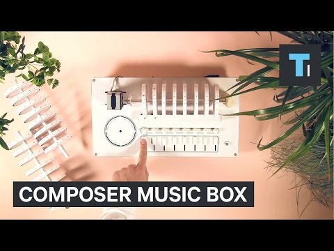 Compose new beats with a rotating music box