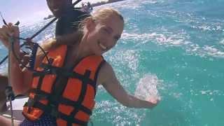 Catamaran - zeilen bij Club Med