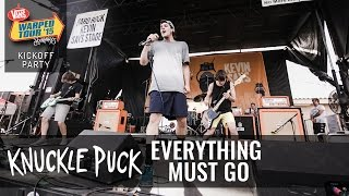 Knuckle Puck - Everything Must Go (Live 2015 Warped Tour Kickoff Party)
