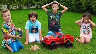 Камиль И Артур Запретили Играть На Улице! Давид И Аминка Потеряли Кролика!