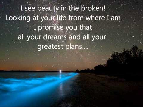 hyland beauty in the broken lyrics
