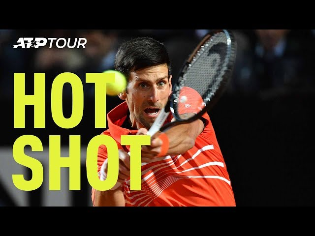 Hot Shot: Djokovic Delivers Winning Pass From The Parking Lot In Rome 2019