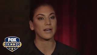 Hope Solo: My relationship with Abby has come so far
