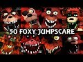 50 FOXY JUMPSCARES FNAF Fangame mp3