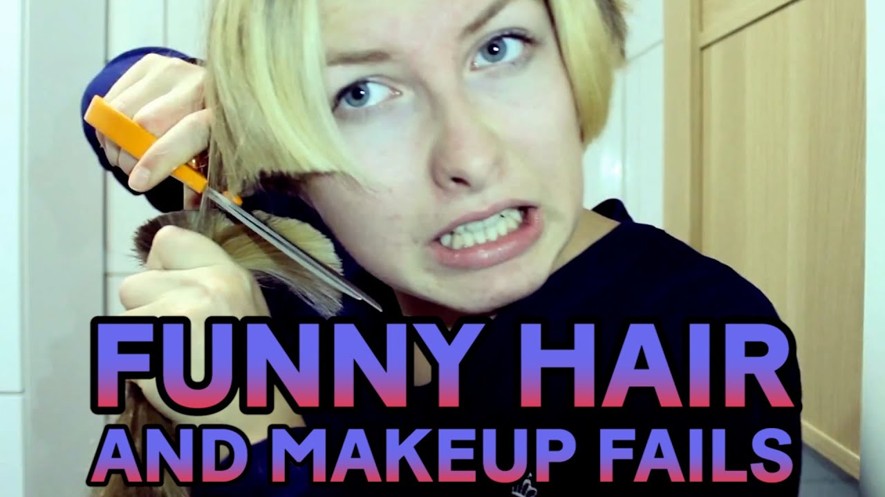 Funny Hair and Makeup Fails